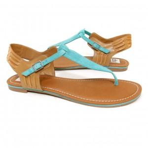 blue sandals