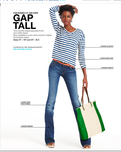 retailers that sell tall womens clothing - the tall girl's guide to