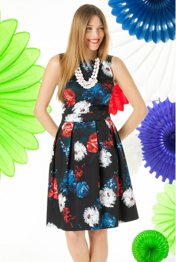 Long Dresses For Tall Women - Floral Bouquet Dress In Multicolored At LTS _ Long Tall Sally - Google Chrome 2014-09-27 13.04.28