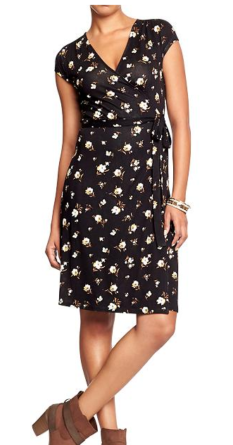 black and flower print dress tall juniors