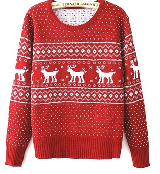Whether you need a festive Christmas sweatshirt for an ugly sweater party (or maybe you just really want one)   I would advise you get one ASAP