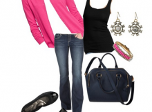 casual-pink-tall-girl-ootd