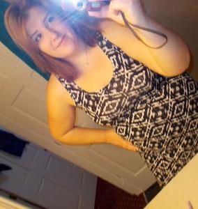 black and white maxi dress alloy selfie