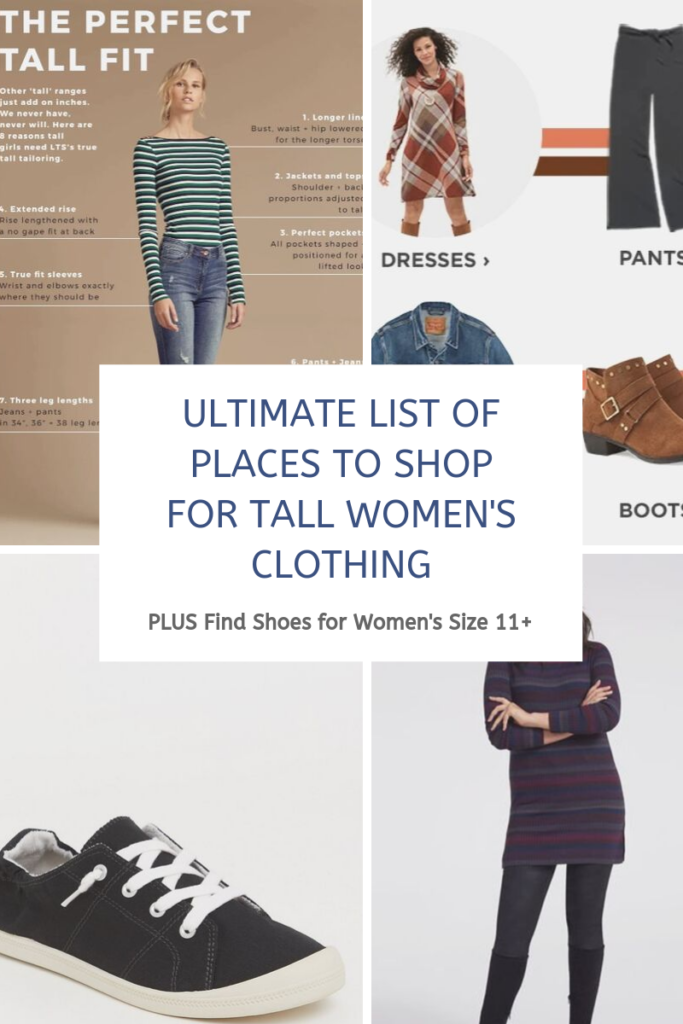 Guide to Buying Clothes for Women 5'9 and up