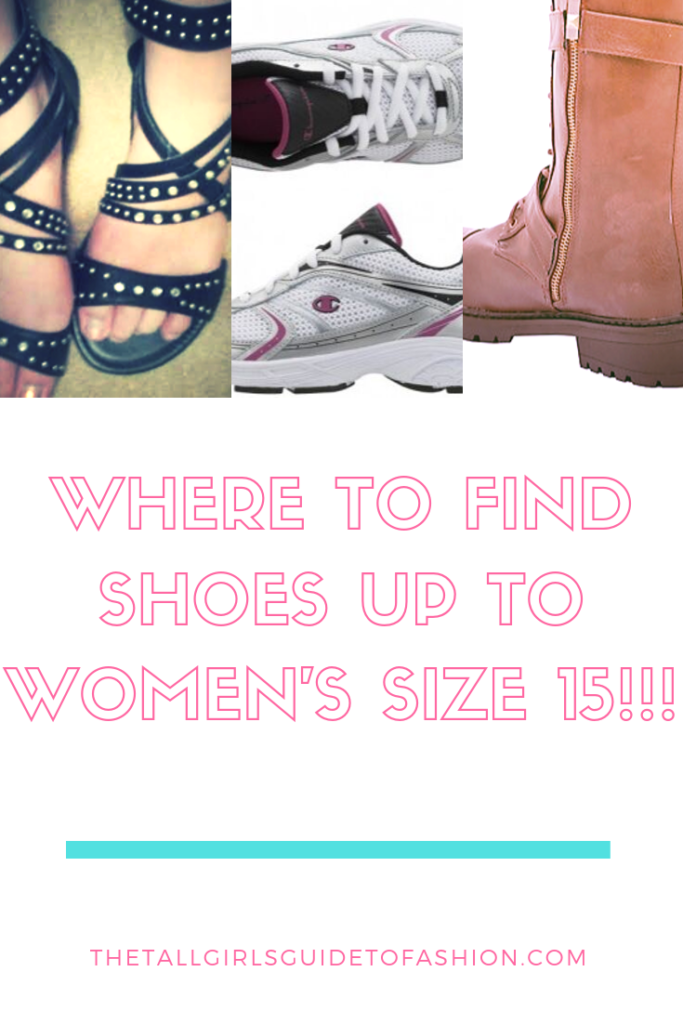 Where to Find Shoes for Women With Big Feet The Tall